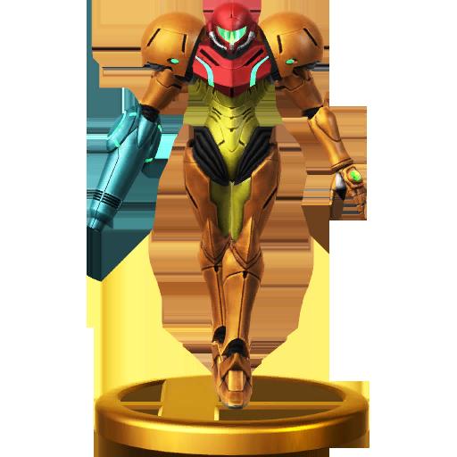 Lista de trofeos de SSB4 Wii U (Metroid)
