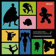 Caratula del CD Super Smash Bros. for Nintendo 3DS Wii U ♪ - A Smashing Soundtrack