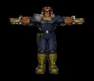 Pose T Captain Falcon SSBM