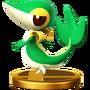 Trofeo de Snivy SSB4 (Wii U).png