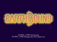 Pantalla de titulo de EarthBound