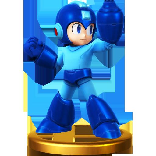 Lista de trofeos de SSB4 Wii U (Mega Man)