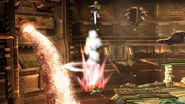 Smash meteorico de Link en la Central Geotermica SSB4 (Wii U)