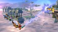Recuperación con Cuerda SSB4 (Wii U)