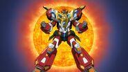 Denkou Chojin Gridman boys invent great hero 33
