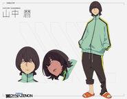 Koyomi Yamanaka design