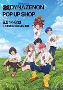 Dynazenon Pop Up Shop ad
