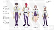 SSSS.DYNAZENON Character and Cast