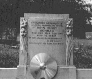 John Bonham Tombstone