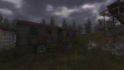 сталкер чистое небо элеватор в темной долине