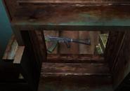 АКМ-74 в тайнике в Лесничестве