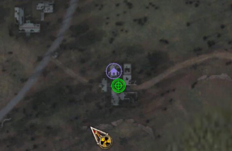 Уничтожить лагерь бандитов на АТП
