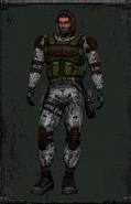 Kombinezon Monolitu z maską