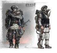 Grafika koncepcyjna S.T.A.L.K.E.R. 2 (Monolit) 6