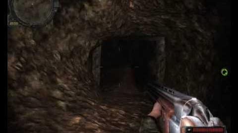 Stalker Call of Pripyat - Dangerous cave