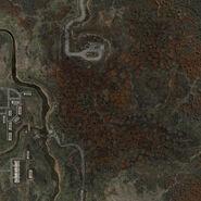 Mapa Czerwonego Lasu
