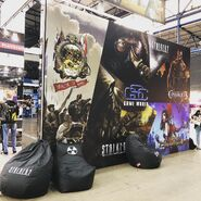 Photo Games Gathering 2019 stand front 1