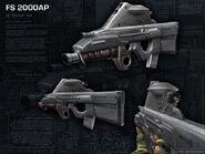 FS 2000AP OL Render