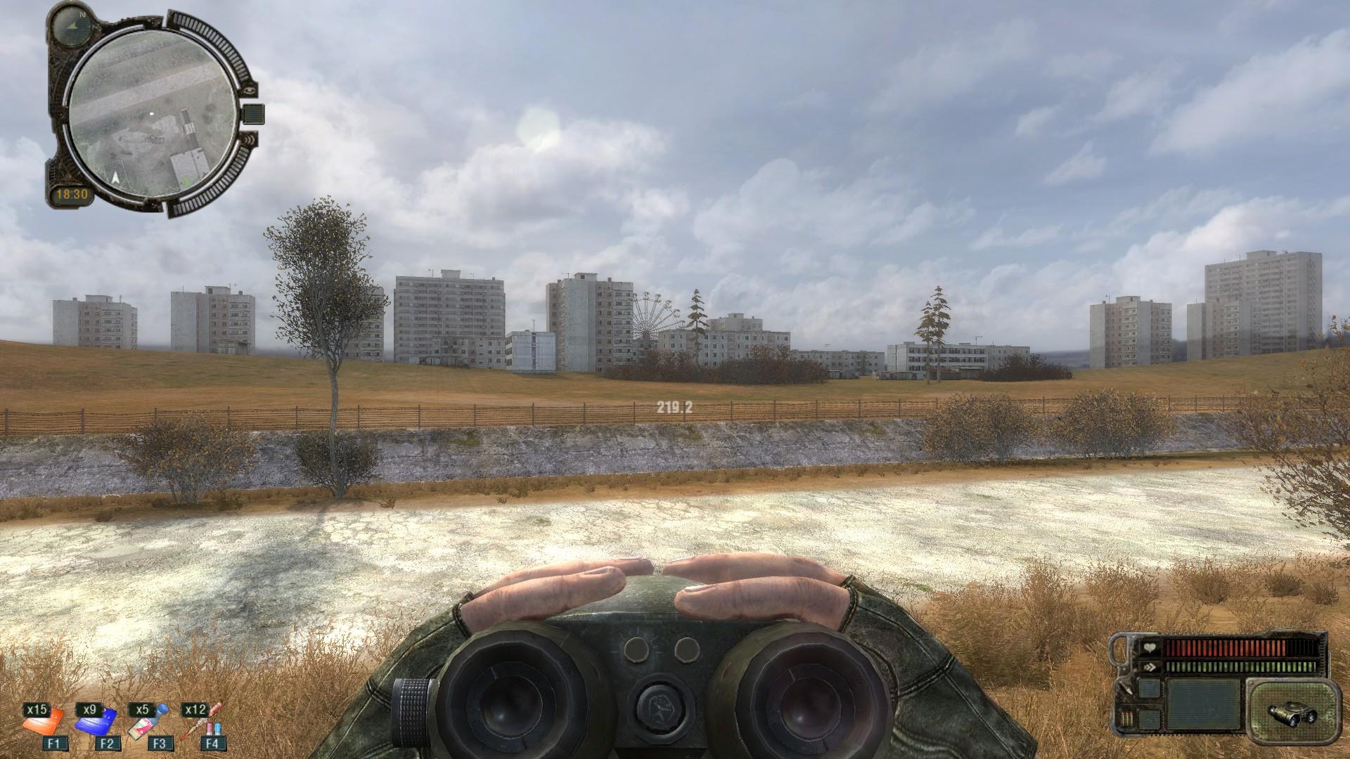 Road to Pripyat