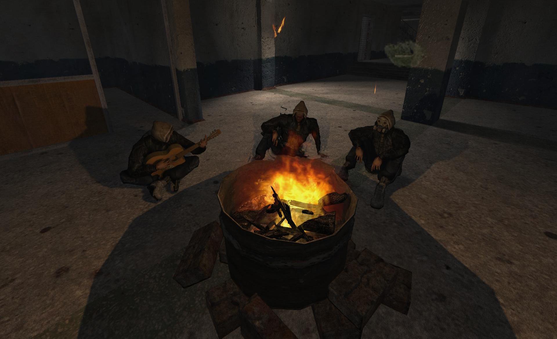 Зачистить базу бандитов
