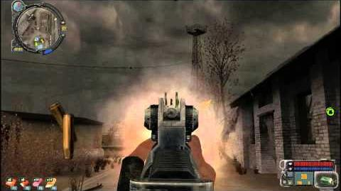 S.T.A.L.K.E.R. Call of Pripyat Weapons (TRs 301 assault rifle) FULL HD