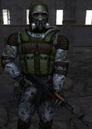SoC Monolith suit gas mask