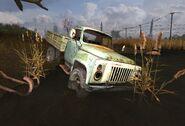 ГАЗ-53 у Сгоревшего хутора