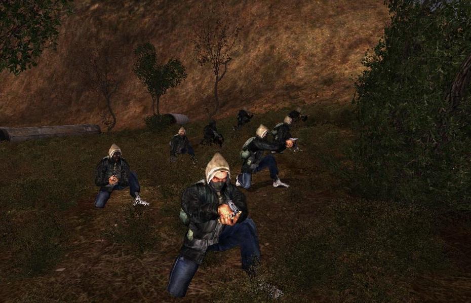 Bandits raid group ready to attack..jpg