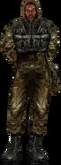 Soldier Suit Worn Icon