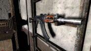 АК-74У с глушителем