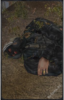 Раненый бандит на Свалке
