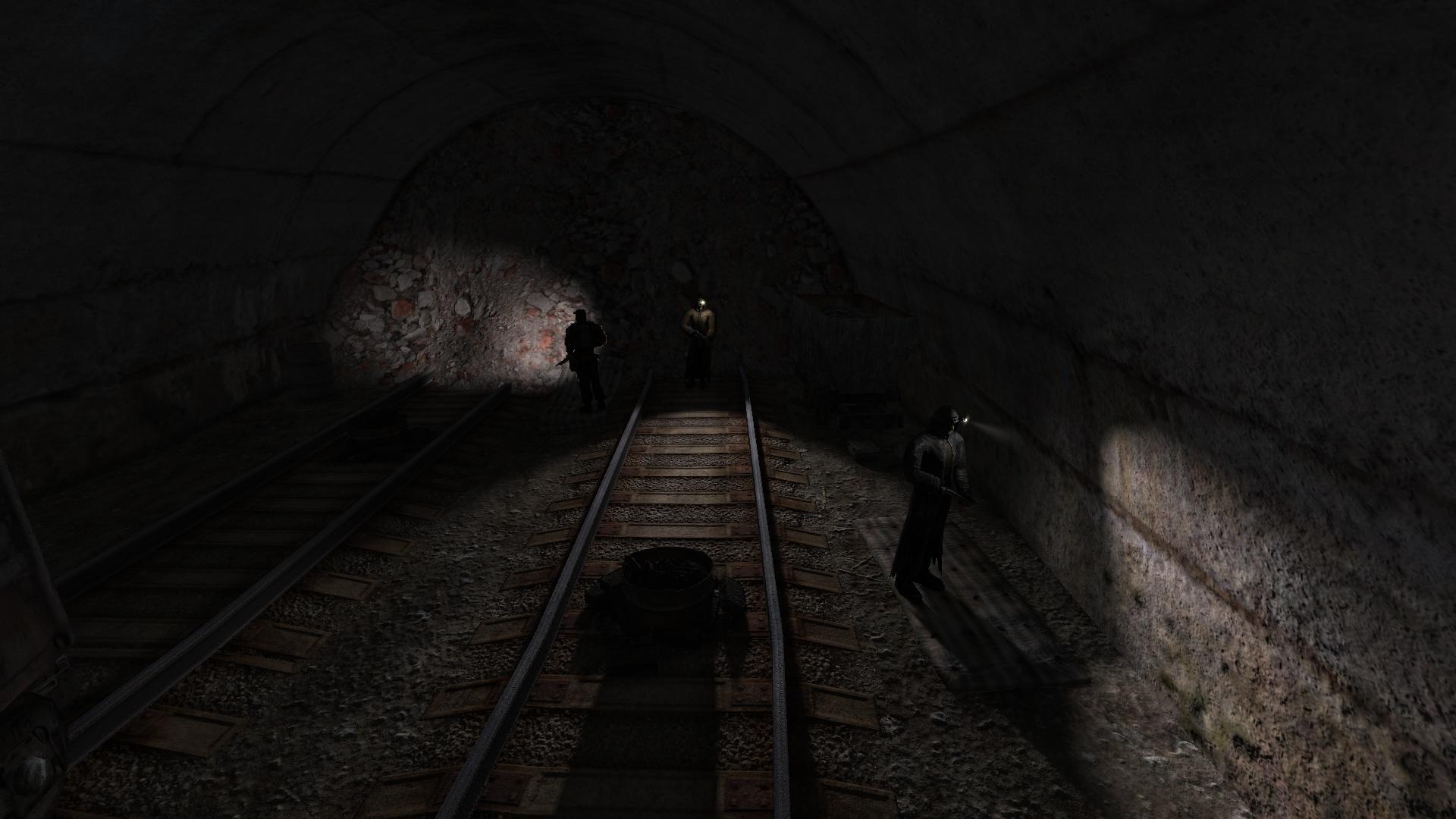 Уничтожить бандитов: Тупик тоннеля