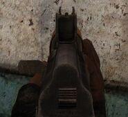AKM-74-2U 4-3 sights
