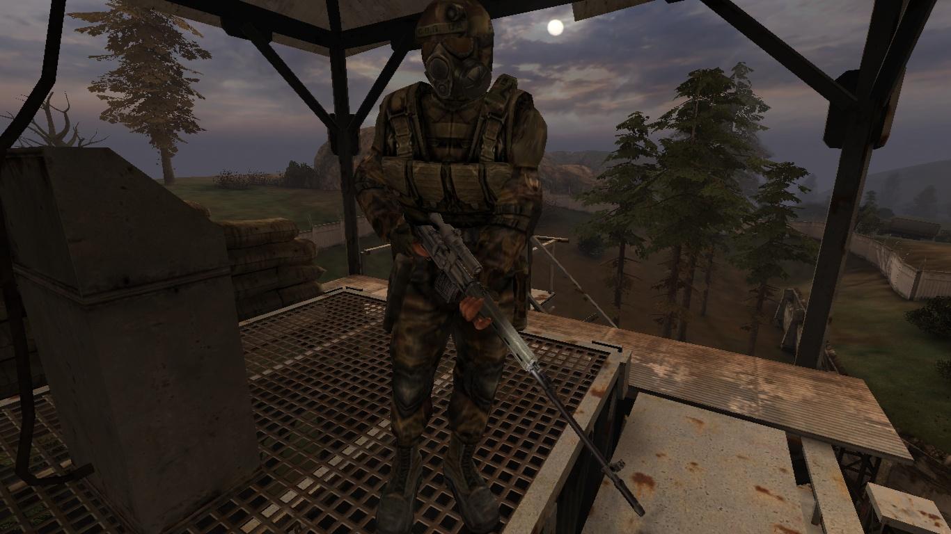 Военный-снайпер