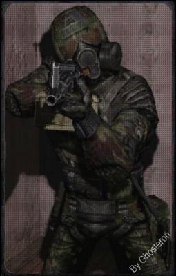 Военный-пулемётчик