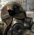 Tactical helmet CoP