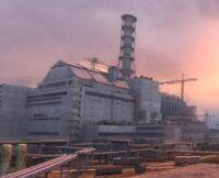 Extérieur de la centrale