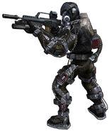 Exoskelet model
