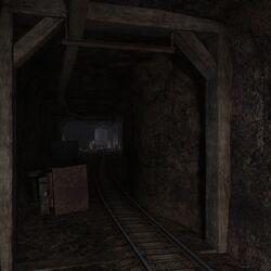 Казармы в шахте