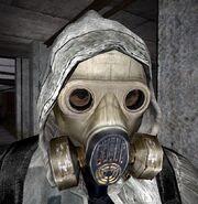 SHOC Leather Jacket Respirator