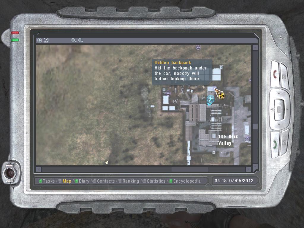 Hidden backpack (Dark Valley) (2)