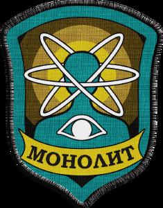 Pierwszy wariant herbu Monolitu