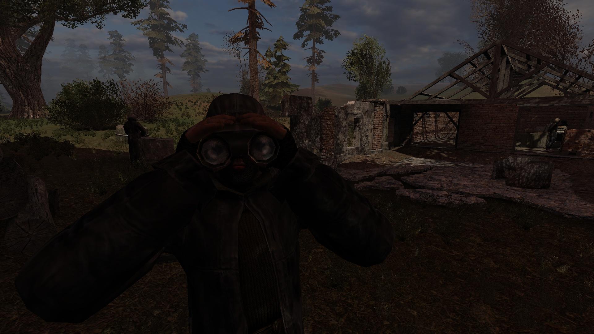 Уничтожить бандитов: Развалины хутора