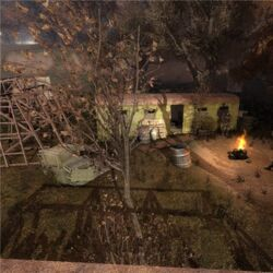 Лагерь у капера