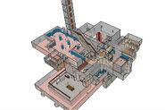 Скриншоты 3-D карты лаборатории X8