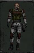 Kombinezon Monolitu z maską gazową