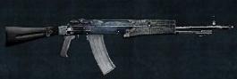 Duty member's assault rifle