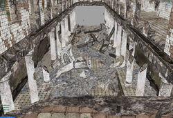 Dry gully column damages 01.jpg