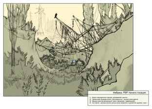 Dry gully high tension line tower.jpg
