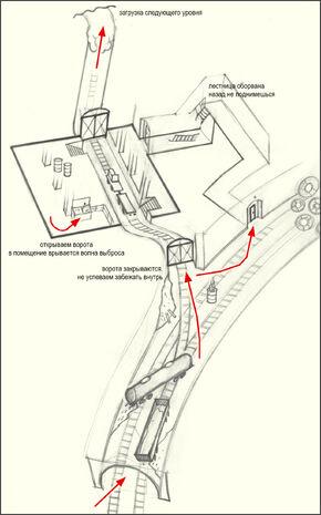 Концепт-арт карты локации
